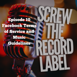Facebook Terms of Service and Music Guidelines